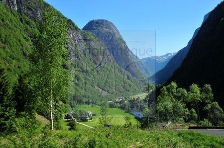 Vallée de Flaam (Norvège)