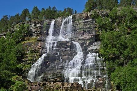 Cascade de Tvinde (Norvège)
