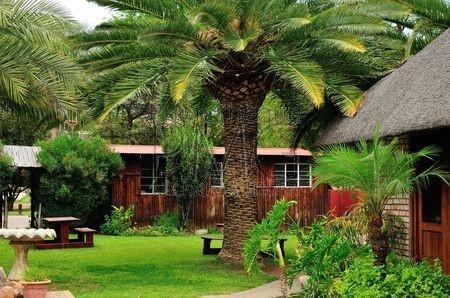 Hôtel dans le Bush (Namibie)
