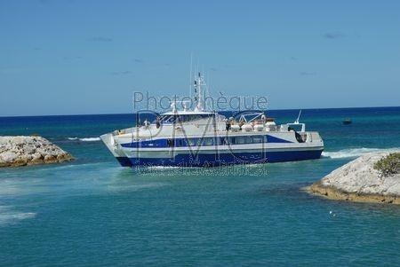 Bateau pour Marie Galante (Guadeloupe)