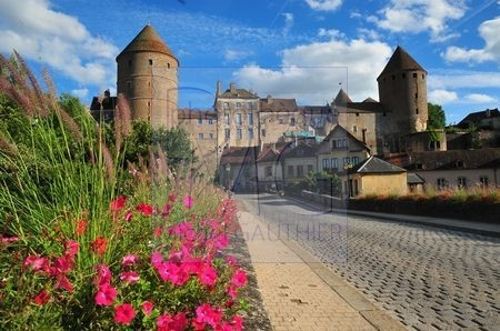 Semur en Auxois (Côte d'Or)