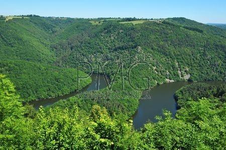 Méandre de Queuille (Puy de Dôme)