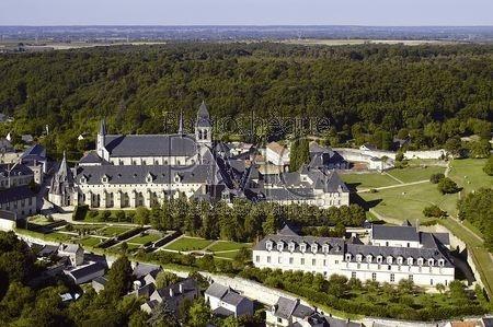 Fontvraud l'Abbaye (Maine et Loire)