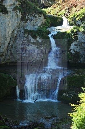 Cascade de la Billaude (Jura)