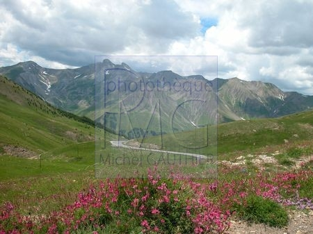 Le Col d'Allos (Alpes de haute Provence)
