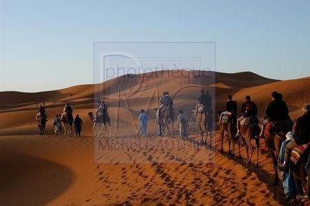 Dunes de Merzouga (Maroc)