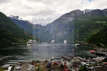 Fjord Geiranger (Norvège)