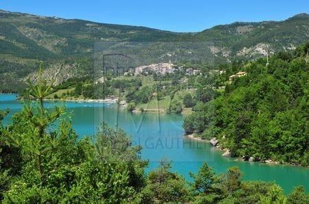 Le Lac de Castillon (Alpes de Haut Provence)