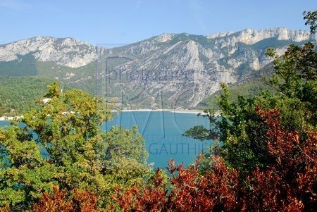 Lac de Castillon (Alpes de Haute Provence)