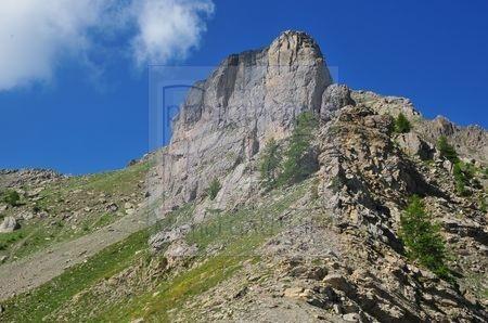 le Chapeau de Gendarme (Alpes de Haute Provence)
