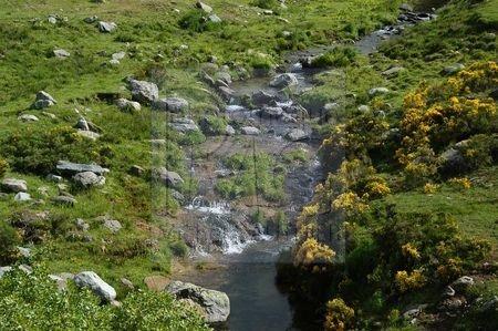 Paysage de la Haute Ardèche