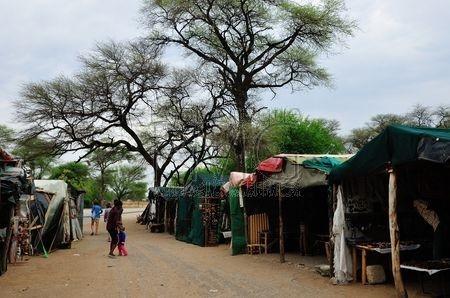 Commerçants dans le Bush (Namibie)
