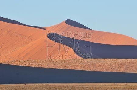 Les dunes de Sossusvlei (Namibie)
