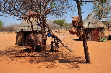 Village Himba (Namibie)