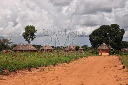 Village du Zimbabwe