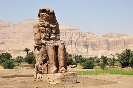 Colosses de Memnon (Egypte)