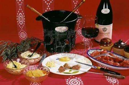 La fondue bourguignonne