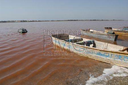 Lac Retba ou Lac Rose (Sénégal)