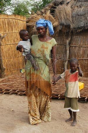 Village du Saloum (Sénégal)