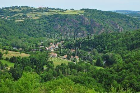 Le Château Rocher (Puy de Dôme)