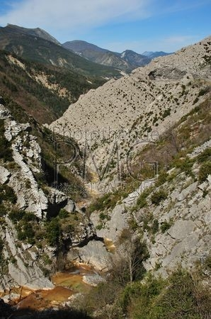 Clue de Taulanne (Alpes de Haute Provence)
